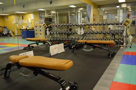 調布市総合体育館の画像